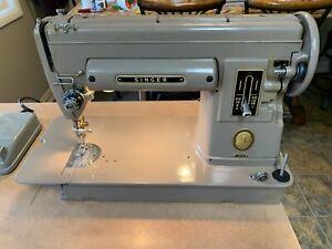 Vintage Singer Sewing Machine Model 301A
