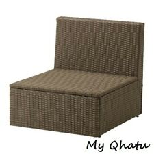 Ikea Arholma One seat Section Outdoor Brown New 701.477.15