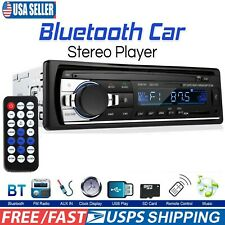 USB Bluetooth Car Stereo MP3 In-Dash FM Audio Aux Input Receiver SD Radio Player