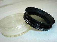 MINOLTA 52mm POLARIZING filter , Vintage, Genuine 52N with case, clean glass