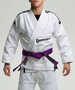Gameness White Pearl Jiu Jitsu Gi