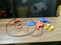 vintage Scalextric controllers