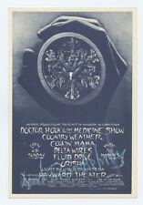 Doctor Hoook Handbill Country Weather 1972 Mar 5 Hayward Mark Beherns signed