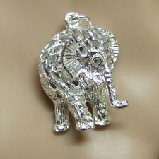 SILVER second hand elephant charm