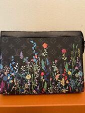 Brand New Authentic  Louis Vuitton Pochette Voyage  Foliage M69053