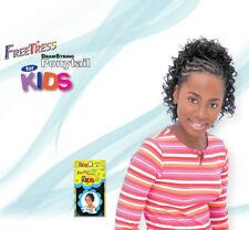 Nuevo Deep Freetress Dibujo Cuerda Cola de Caballo para los Niños Rizos Patrón