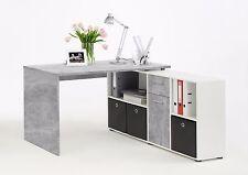 Schreibtisch Lex, Light Atelier, weiß, Computertisch, Winkelschreibtisch, Tisch