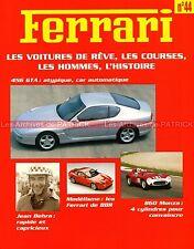 FERRARI 308 GTB 456 GTA 860 Monza 801 F1 Jean BEHRA Jochen RINDT - Fascicule 44