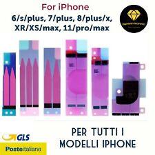 🔝 Adesivo Colla Sticker Batteria Apple iPhone 6/6s 7/8/plus X/XR/XS 11/pro/max
