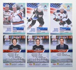 2021 BY cards IIHF U20 World Championship Team USA BASE Pick a Player Card