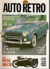AUTO RETRO 125 BMW 3.0 CS AUSTIN HEALEY 3000 VEC 250CH PEUGEOT 403 MG MIDGET