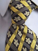 Men's Vassari Floral Silk Tie Made in Italy C24320