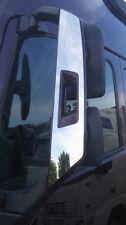 2 Stk. Spiegel Abdeckungen Dekoration Poliert Edelstahl für VOLVO FH 4 LKW Truck