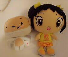 Ty Plush Beanie Baby Hoho & Ni Hao Kai Lan Monkey Stuffed animal Toy