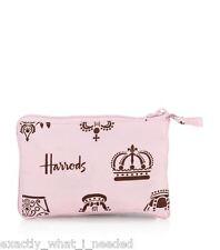 Harrods couronne imprimé cabas sac shopping pochette femme britannique cadeau nouveau