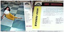 disque 33 tours love invitation - Richard Brent - / disque america