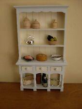 Dollshouse Miniatura ~ TORTORA & Ivory ~ CUCINA CREDENZA e accessori