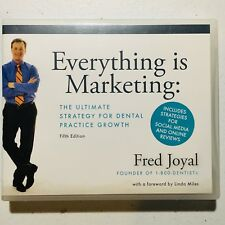 Everything is Marketing: Strategy for Dental Practice Growth (5 Cds) Audiobook +