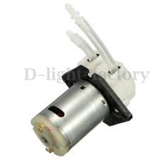 DC 12v D4 Lab dosing pump peristaltic head chemical water liquid 19~100ml/min Tw