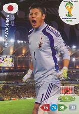 N°224 EIJI KAWASHIMA # JAPAN PANINI CARD ADRENALYN WORLD CUP BRAZIL 2014