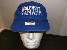 Wulfsport Wulf MX YAMAHA BASEBALL CAP PEAK HAT BLUE /WHITE