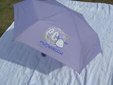 Sanrio Pochacco Dog Folding Umbrella Case Manual Lavender Vintage '89, '01, New
