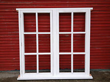 Traditional Timber Wooden Georgian 12 Panes Casement Windows Made To Measure!!!
