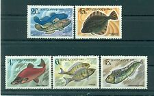 Russie - USSR 1983 - Michel n. 5294/98 - Poissons alimentaires