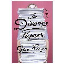 The Divorce Papers: A Novel, Rieger, Susan, Good Book