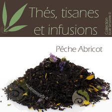 Thé noir Pêche abricot 50g - Thé infusion tisane