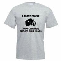 I SHOOT PEOPLE - Camera / Photography / Novelty / Funny Themed Men's T-Shirt