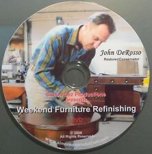 New DVD Easy Weekend Furniture Refinishing and Repair