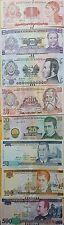 O) 2000  2010 HONDURAS, BANKNOTE -LEMPIRAS - ISO 4217 HNL UNC, COMPLETE SERIES P
