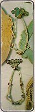 Macrame Necklace Patterns Vintage Braided Jewelry #7118 Symphony of Strings