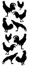 Rooster Wall Decals & Wall Stickers