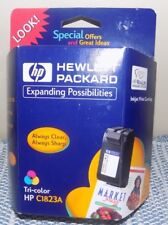 HP Inkjet refill Cartridge 23 Sealed in Package  Expired Tricolor C1823A