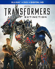 Transformers: Age of Extinction (Blu-ray/DVD, 2014, 3-Disc Set) NEW