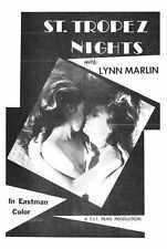 St Tropez Nights Poster 01 A4 10x8 Photo Print