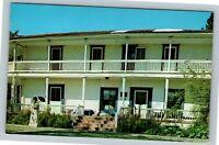 Martinez CA, John Muir National Site, Martinez Adobe, Chrome California Postcard