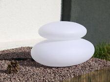 LED-Solar-Dekostein Duo Lichtobjekt Solarleuchten Gartendekoration Wegeleuchte