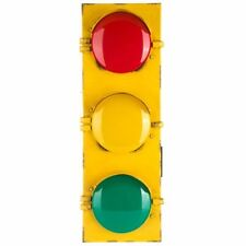 "Large Blinking Flashing Multicolor 24"" x 8"" Traffic Light Signals Lamp Party F/S"