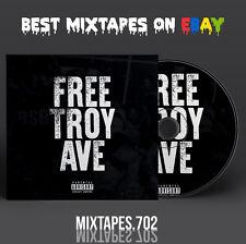 Troy Ave - Free Troy Ave Mixtape (Artwork CD/Front/Back Cover) Bricks White