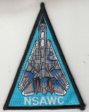 F-14 TOMCAT NSAWC SHOULDER PATCH