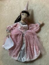 "Folkmanis 12"" Princess Finger Puppet Free Shipping!!"