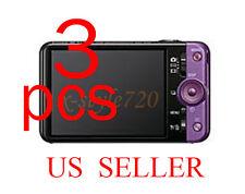 3pcs Sony CyberShot DSC-WX9 Camera LCD Screen Protector Guard Film
