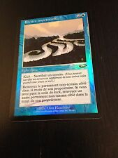 MTG MAGIC PLANESHIFT RUSHING RIVER (FRENCH RIVIERE IMPETUEUSE) NM FOIL