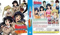 ANIME DVD ENGLISH DUBBED School Rumble Season 1+2(1-52End+OVA) + FREE GIFT