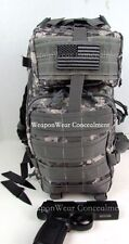 Tactical Backpack Gun Holster Included HEAVY DUTY Digital Camo CCW FREE GIFTS