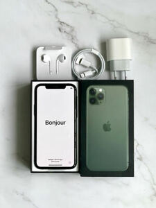 Apple iPhone 11 Pro - 256Go - Vert nuit (Désimlocké) A2215 (CDMA + GSM)
