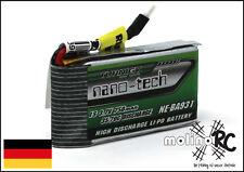 1x Turnigy nano-tech 750mAh 1S 35-70C NEU Lipo Akku 3,7V Nine Eagles Solo Pro180